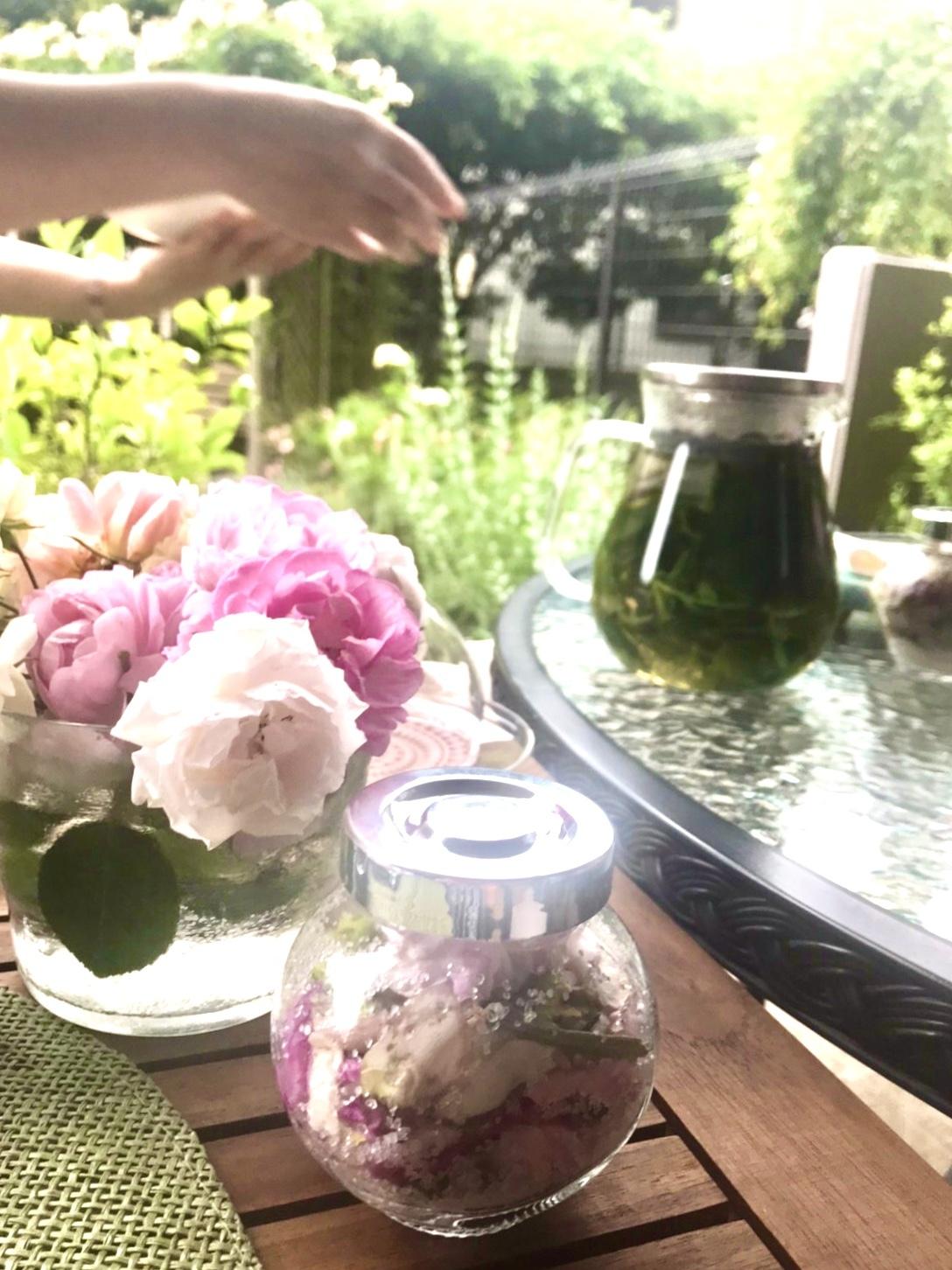 薔薇のお茶会②2021/5/17_d0085018_16381801.jpeg