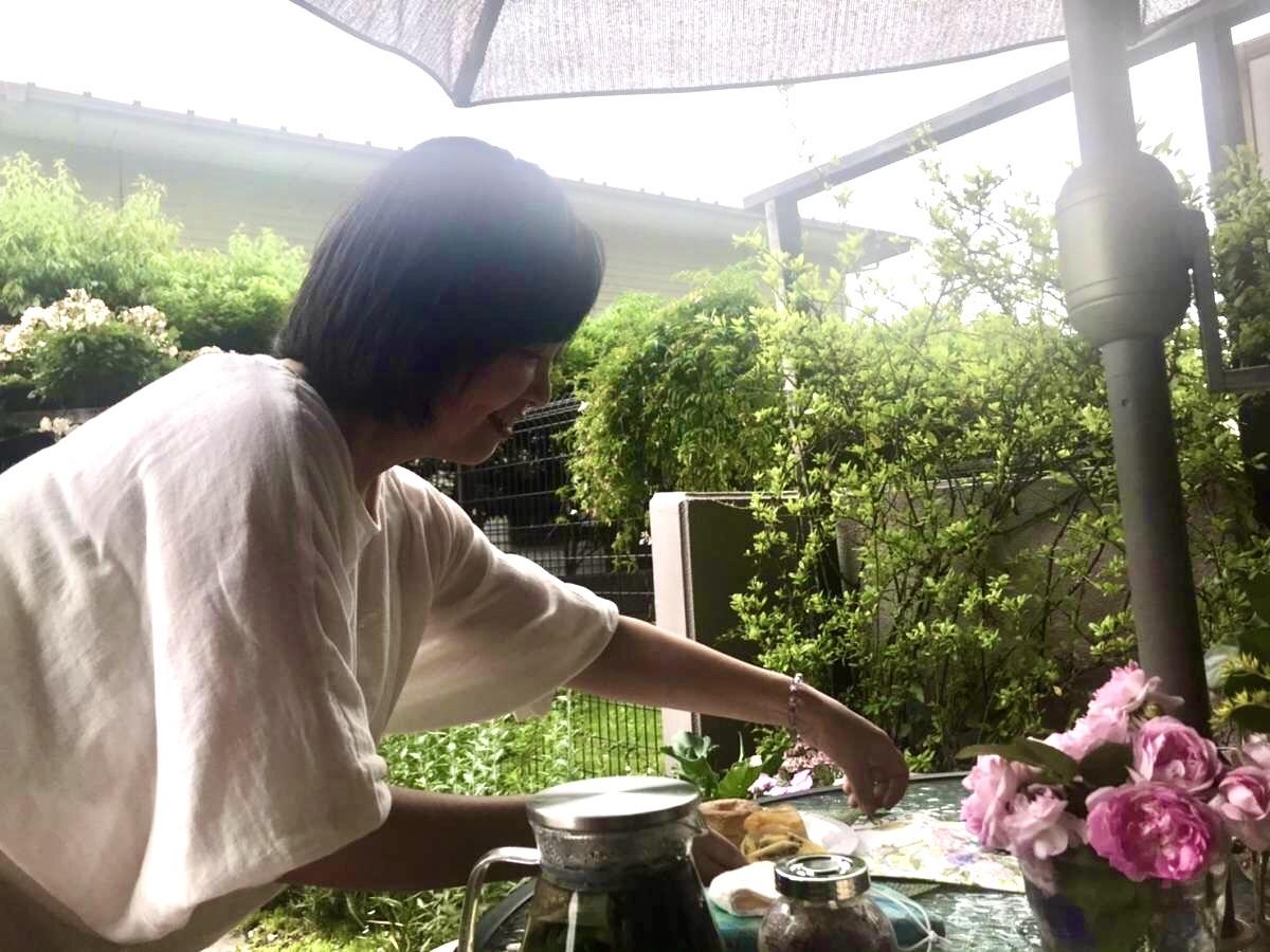 薔薇のお茶会②2021/5/17_d0085018_17360327.jpeg