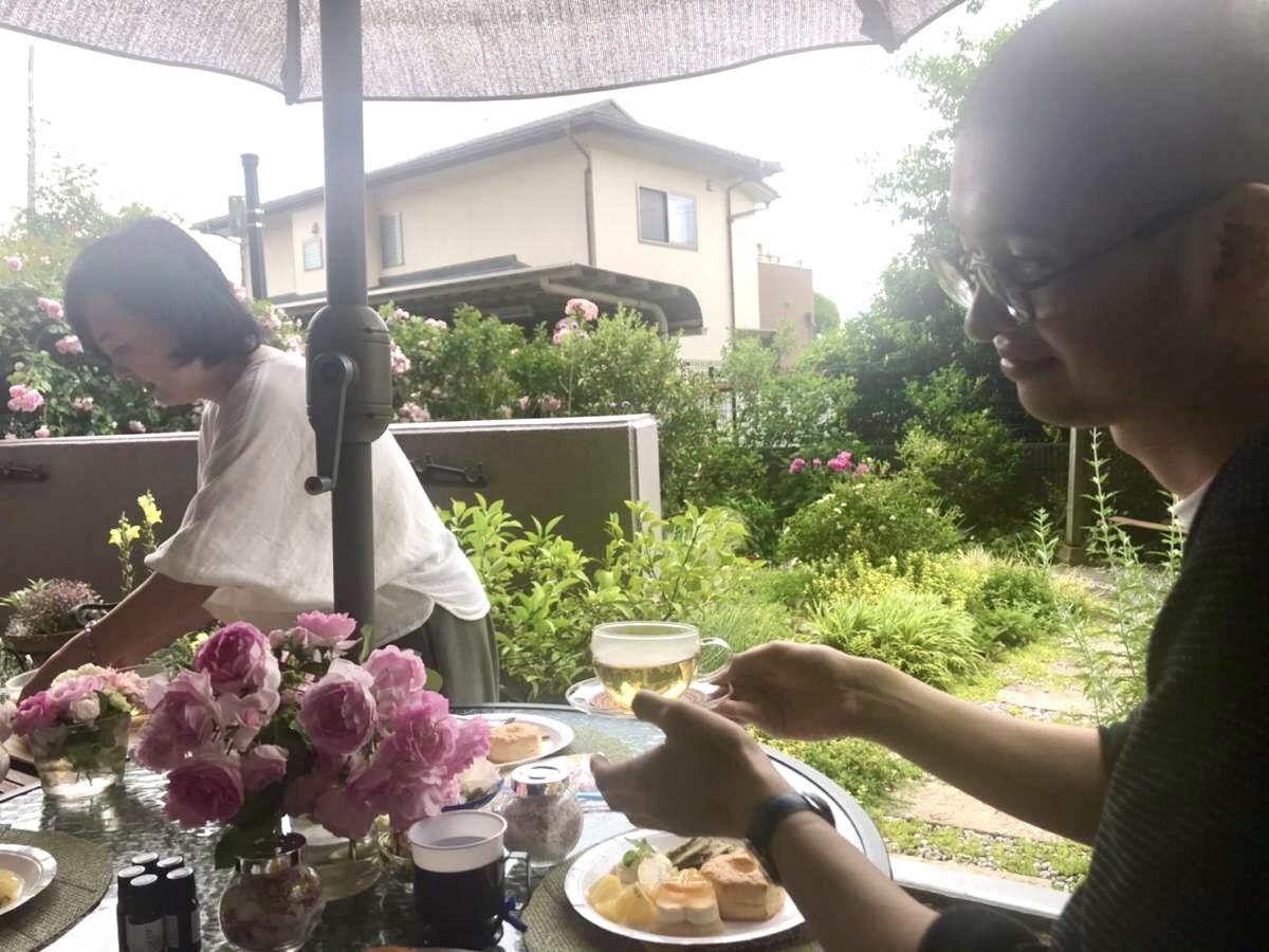 薔薇のお茶会②2021/5/17_d0085018_17363404.jpeg