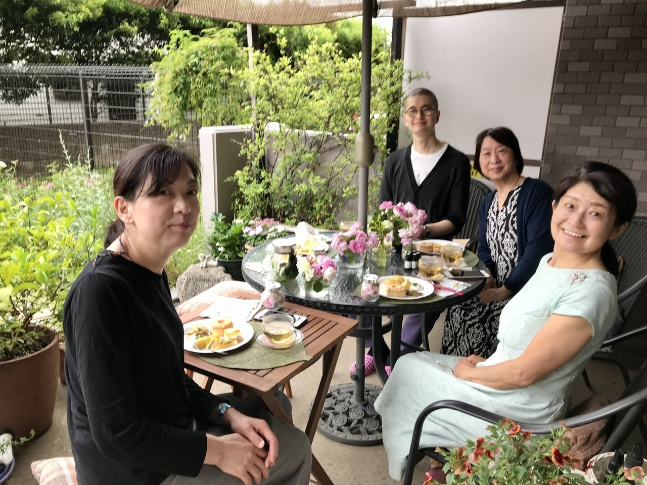 薔薇のお茶会②2021/5/17_d0085018_17532598.jpeg