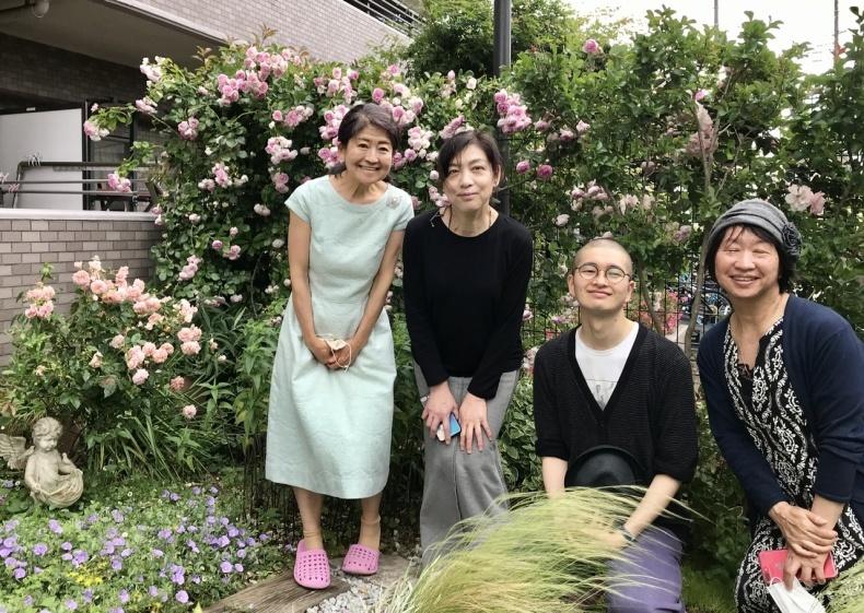 薔薇のお茶会②2021/5/17_d0085018_18092716.jpeg