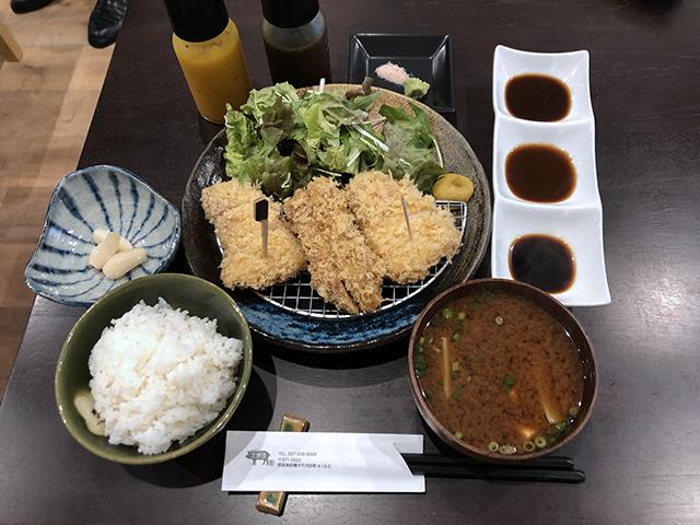 とんかつ大野屋の三県食べ比べロースかつランチ_a0349423_10145673.jpg