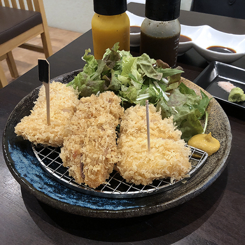 とんかつ大野屋の三県食べ比べロースかつランチ_a0349423_10151936.jpg