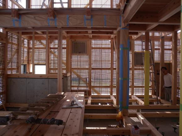 京田辺の土壁造りの家_e0164563_11013940.jpg