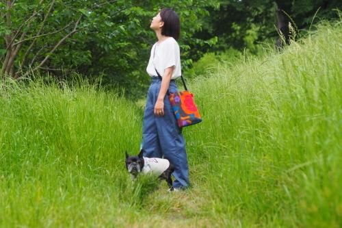 「shoulder bag」5つのファブリック_e0243765_18445071.jpg