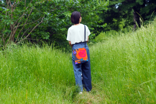 「shoulder bag」5つのファブリック_e0243765_18450200.jpg