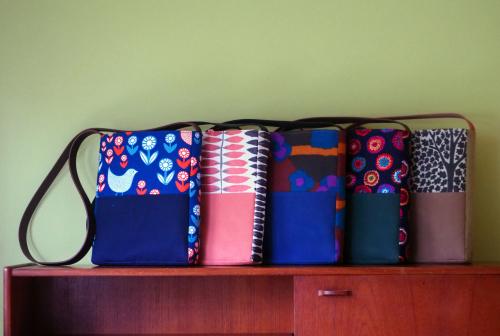 「shoulder bag」5つのファブリック_e0243765_18472077.jpg