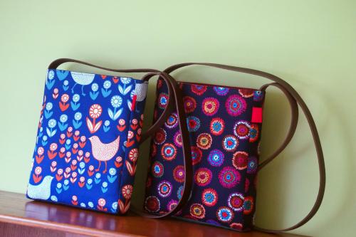「shoulder bag」5つのファブリック_e0243765_18483916.jpg