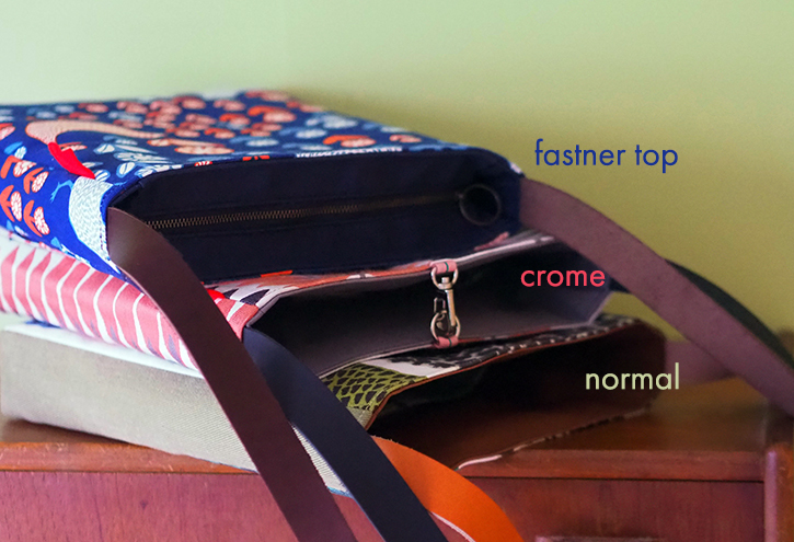 「shoulder bag」5つのファブリック_e0243765_18495767.jpg