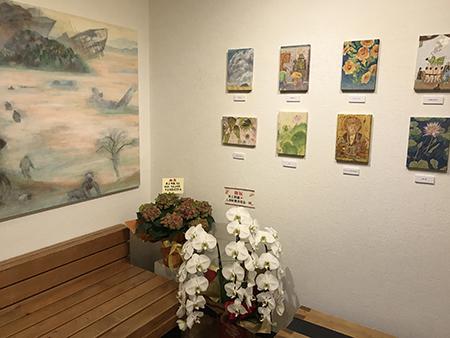日本画科クラス担当 井上明敏先生個展レポート_b0107314_11504404.jpg