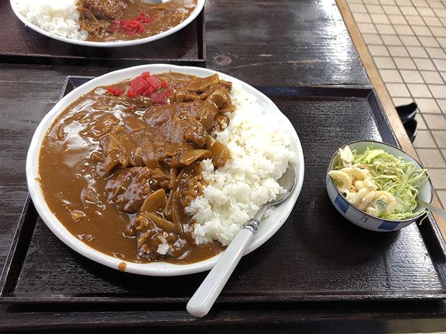 かどや東京支店のカツカレー_a0349423_10455522.jpg