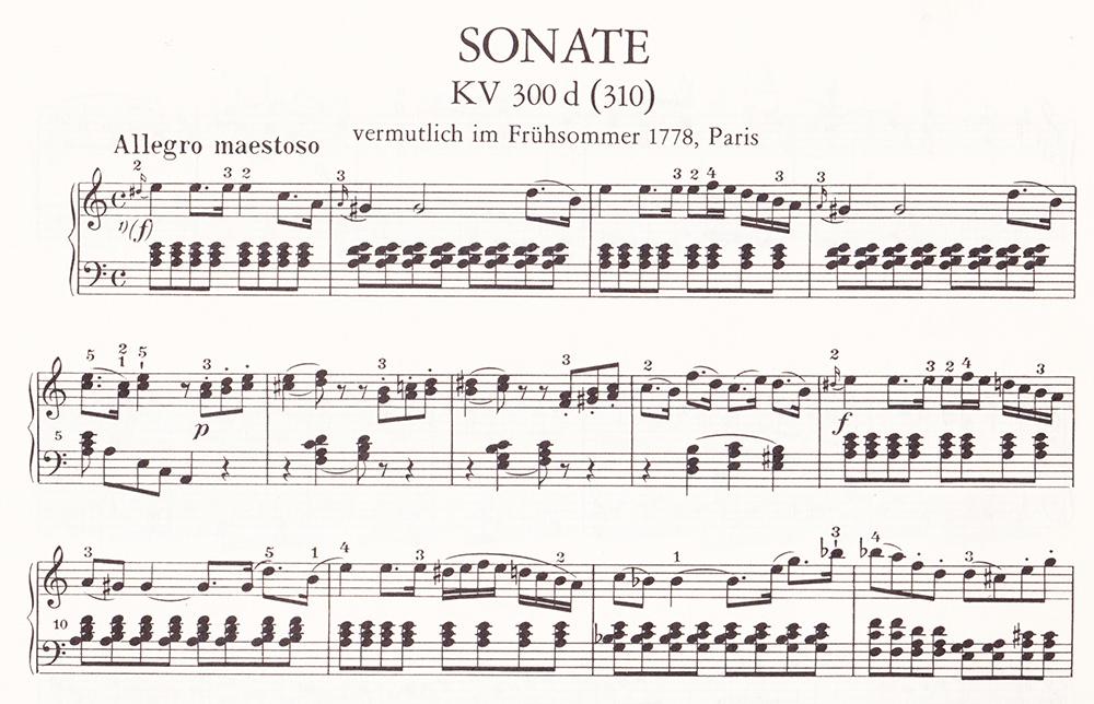 ピアノ・ソナタ イ短調 K.310(300d)〜第1楽章 モーツァルト_f0199866_19434415.jpg
