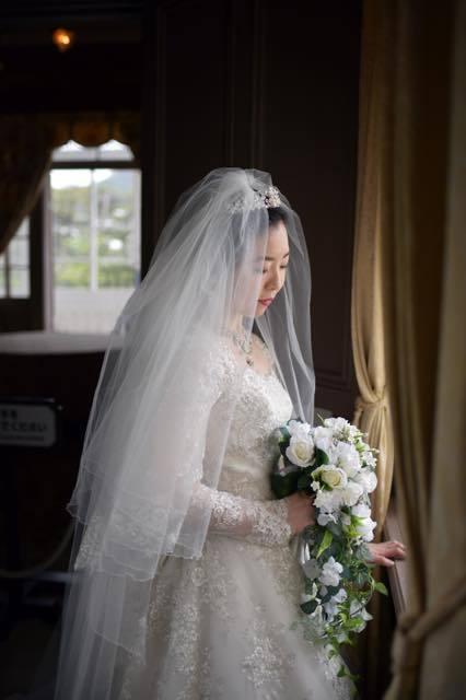 今回は仁風閣での洋装を......宇倍神社での......_b0194185_18175171.jpg