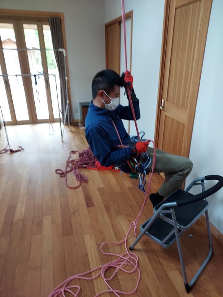 ロープワーク講習~基礎結索訓練~_e0231387_20402479.jpg