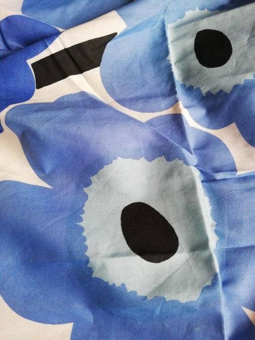 北欧茶会 天然色素で染めたレトロな青いアネモネ 磯子風月堂_e0092594_10322294.jpg