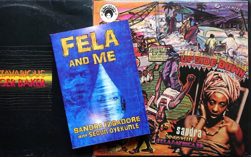 """読書メモ:Sandra Izsadore with Segun Oyekunle \""""Fela and Me\""""_d0010432_15220194.jpg"""