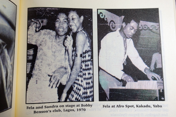 """読書メモ:Sandra Izsadore with Segun Oyekunle \""""Fela and Me\""""_d0010432_20234932.jpg"""