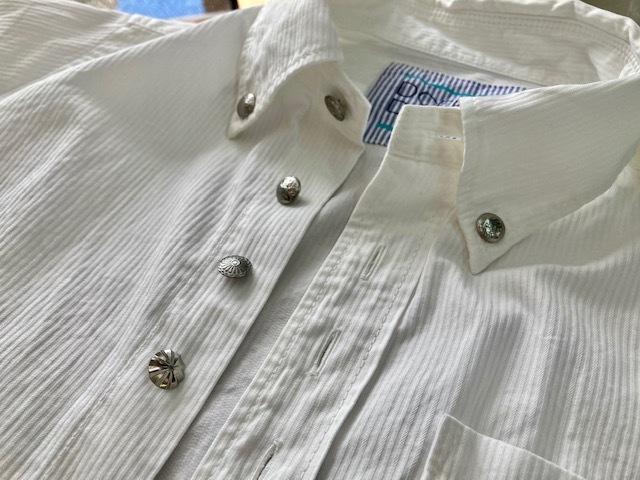 夏に向けて新作コンチョボタンシャツ 新登場♪_d0108933_21522001.jpg