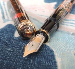 蒔絵限定万年筆「七 宝」、撮りました。_e0200879_13184951.jpg