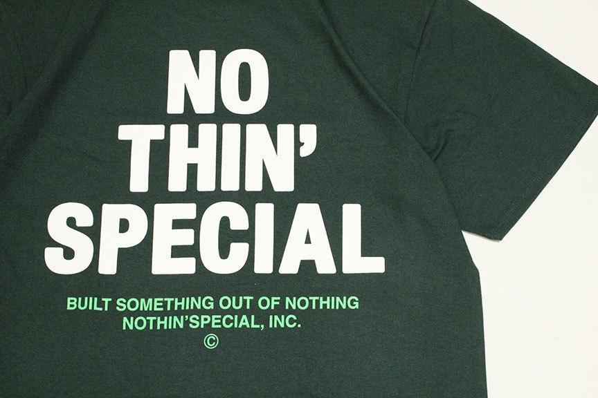 "NOTHIN\'SPECIAL (ナッシンスペシャル) \"" S/S \'21 LOGO TEE \""_b0122806_12081777.jpg"