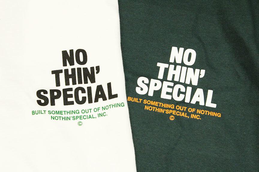 "NOTHIN\'SPECIAL (ナッシンスペシャル) \"" S/S \'21 LOGO TEE \""_b0122806_12082854.jpg"