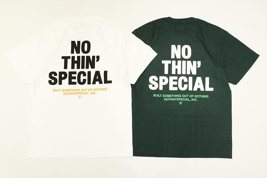 "NOTHIN\'SPECIAL (ナッシンスペシャル) \"" S/S \'21 LOGO TEE \""_b0122806_12083475.jpg"