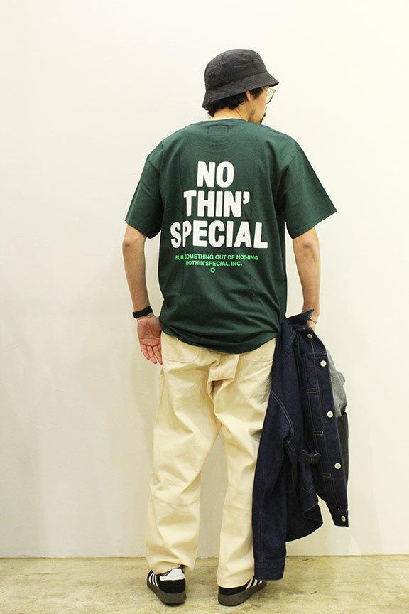 "NOTHIN\'SPECIAL (ナッシンスペシャル) \"" S/S \'21 LOGO TEE \""_b0122806_12100029.jpg"