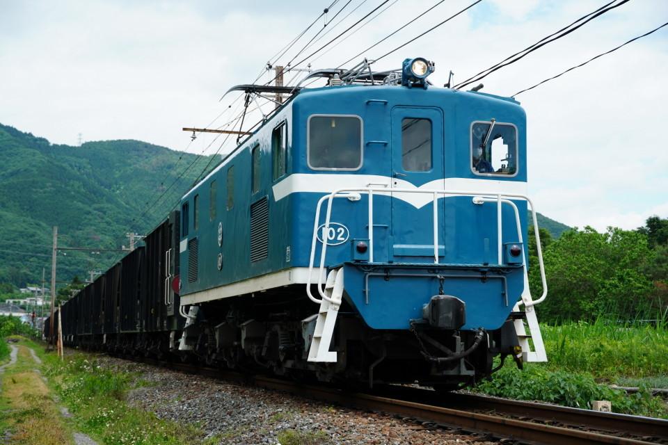 麦畑を行くSL長瀞蔵号とEL貨物列車ー2021年5月23日ー_a0385725_21572934.jpg