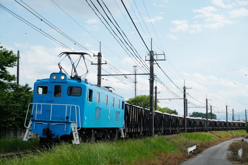 麦畑を行くSL長瀞蔵号とEL貨物列車ー2021年5月23日ー_a0385725_21580335.jpg