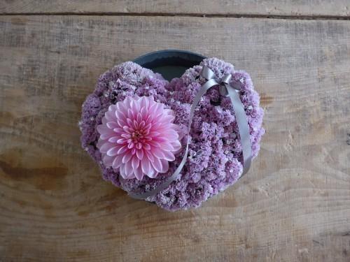花修行~食べられないハートのケーキ~_f0232060_18114709.jpg