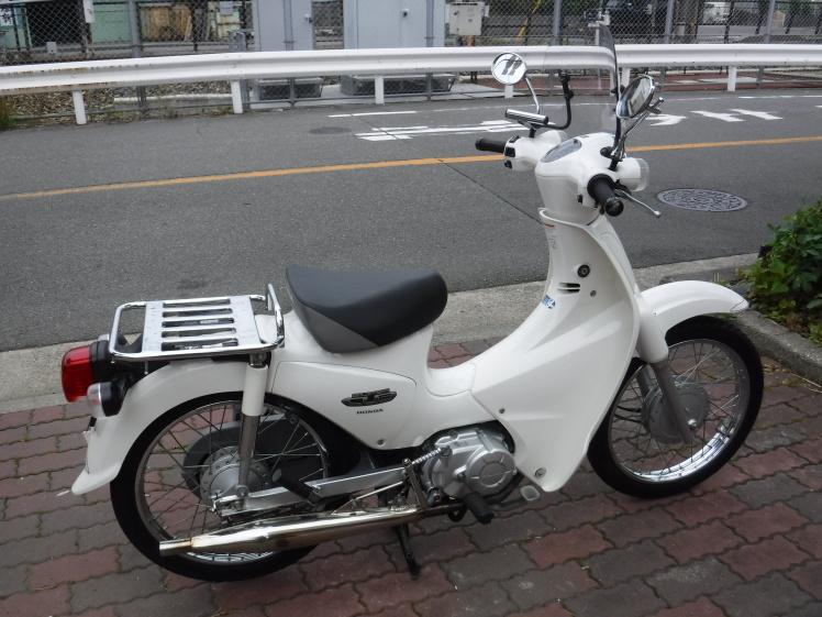 スーパーカブ110 JA07 中古車入荷!_e0157602_14083830.jpg