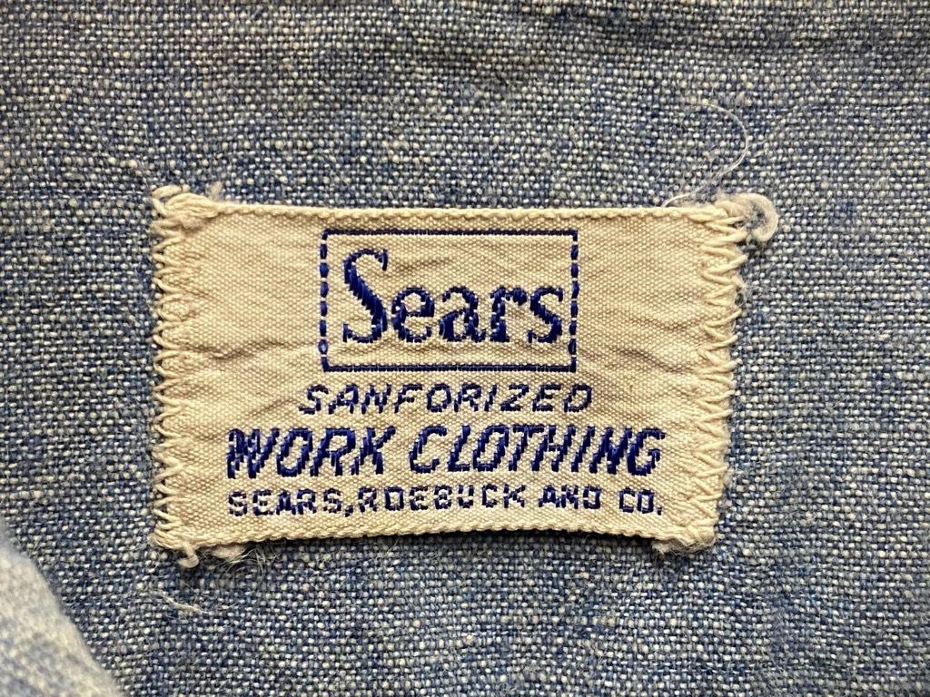 5月26日(水)マグネッツ大阪店Vintage入荷日!! #5 Work編!! BlackCovert,Dickies,Sears,KEY,NewspaperBag!!_c0078587_18251948.jpg