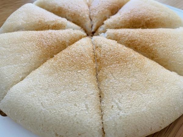 早朝から、米粉蒸しパン 米粉パンを作る・・_a0239890_17422714.jpg