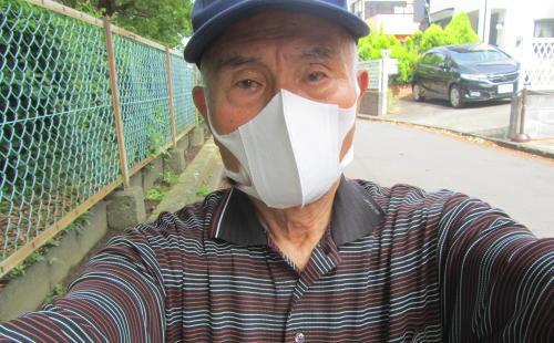 地元老人会によるボランティア公園清掃_c0220597_19433148.jpg