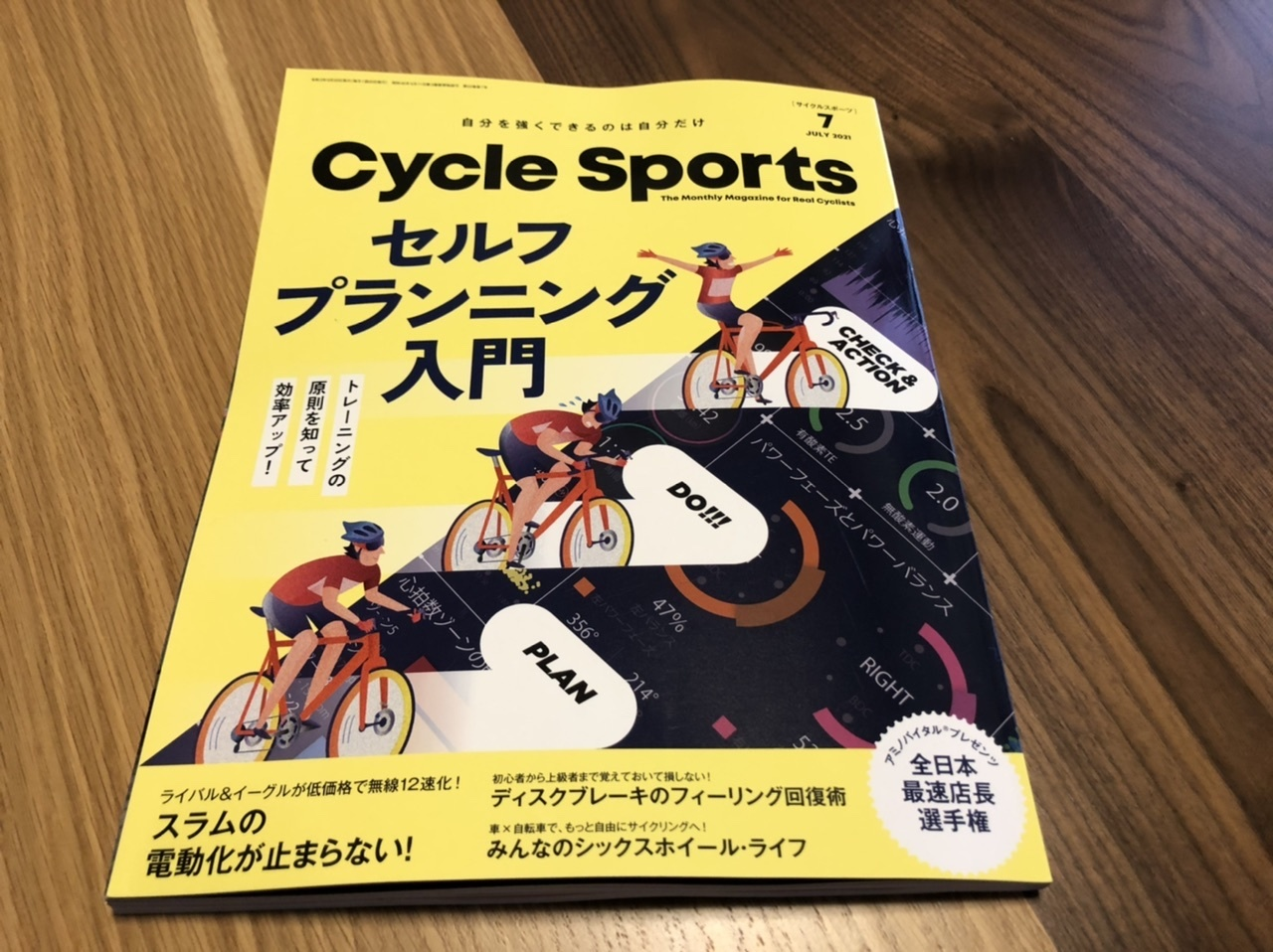 CycleSports7月号発売中~!!全日本最速店長選手権載ってます!_e0365437_10542620.jpeg