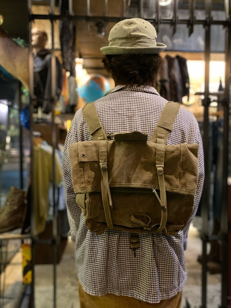 5月26日(水)マグネッツ大阪店Vintage入荷日!! #6 U.S.Military Part1編!! M-41 HBT Cap,M-41 2nd Haversack,HBT BarrackBag_c0078587_00102120.jpg