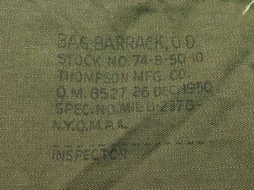 5月26日(水)マグネッツ大阪店Vintage入荷日!! #6 U.S.Military Part1編!! M-41 HBT Cap,M-41 2nd Haversack,HBT BarrackBag_c0078587_00162180.jpg