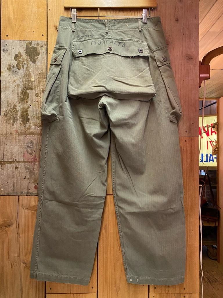 5月26日(水)マグネッツ大阪店Vintage入荷日!! #7 U.S.Military Part2編!! U.S.M.C.&U.S.Army P-44 MonkeyPants!!_c0078587_00293426.jpg