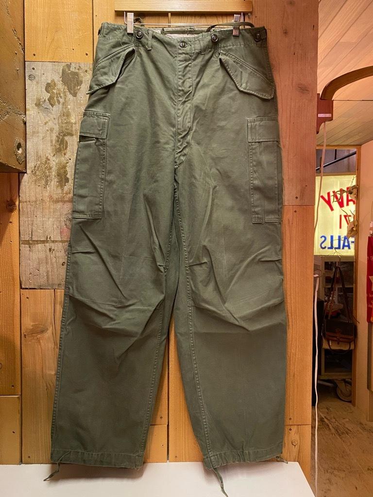 5月26日(水)マグネッツ大阪店Vintage入荷日!! #7 U.S.Military Part2編!! U.S.M.C.&U.S.Army P-44 MonkeyPants!!_c0078587_00473971.jpg