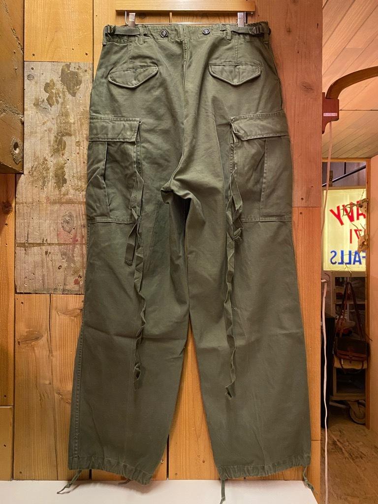 5月26日(水)マグネッツ大阪店Vintage入荷日!! #7 U.S.Military Part2編!! U.S.M.C.&U.S.Army P-44 MonkeyPants!!_c0078587_00474694.jpg