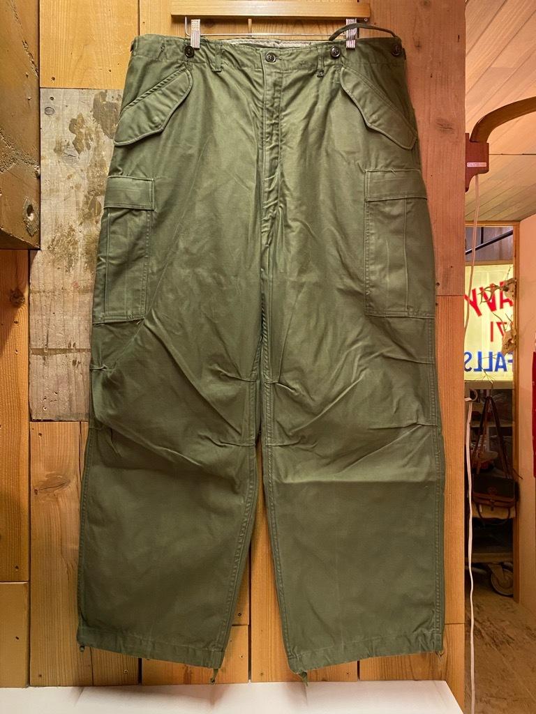 5月26日(水)マグネッツ大阪店Vintage入荷日!! #7 U.S.Military Part2編!! U.S.M.C.&U.S.Army P-44 MonkeyPants!!_c0078587_00474816.jpg