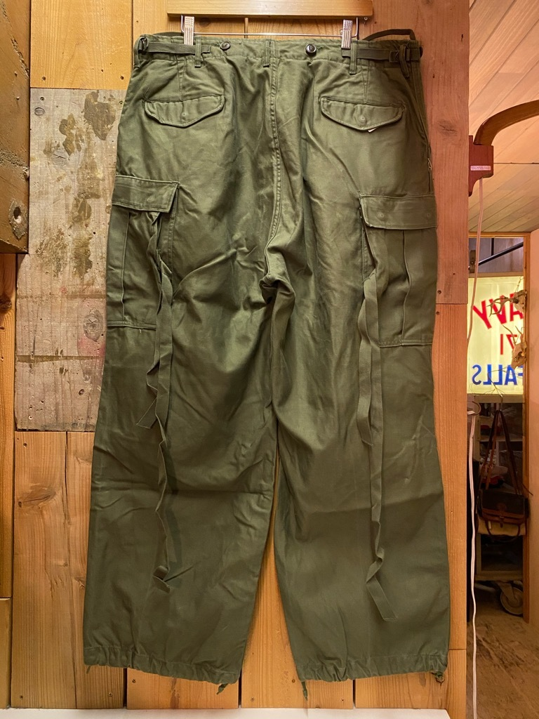 5月26日(水)マグネッツ大阪店Vintage入荷日!! #7 U.S.Military Part2編!! U.S.M.C.&U.S.Army P-44 MonkeyPants!!_c0078587_00475533.jpg