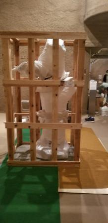 作業日誌(「熱海市立澤田政廣記念美術館」木彫刻作品引取作業)_c0251346_15342273.jpg