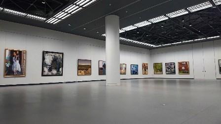 作業日誌(「第107回光風会 名古屋展」作品搬入展示作業)_c0251346_16075781.jpg