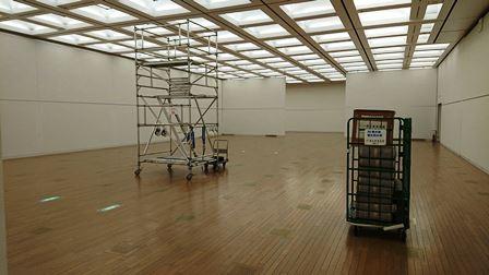 作業日誌(「第43回日本新工芸展」作品搬入展示作業)_c0251346_16165818.jpg