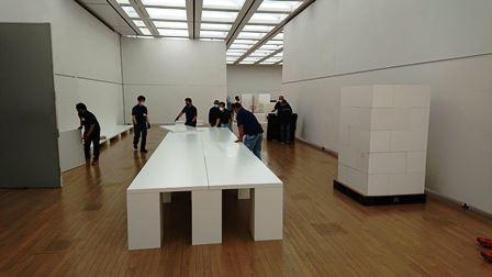 作業日誌(「第43回日本新工芸展」作品搬入展示作業)_c0251346_16171396.jpg