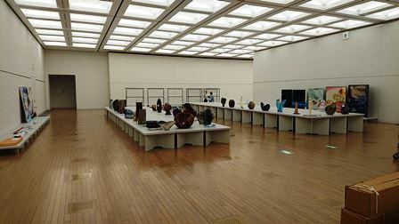 作業日誌(「第43回日本新工芸展」作品搬入展示作業)_c0251346_16174041.jpg