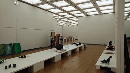 作業日誌(「第43回日本新工芸展」作品搬入展示作業)_c0251346_16175539.jpg