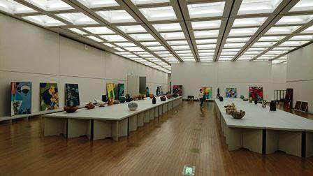 作業日誌(「第43回日本新工芸展」作品搬入展示作業)_c0251346_16180227.jpg