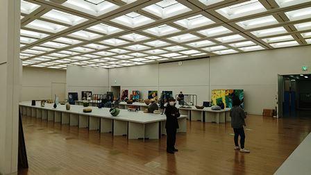 作業日誌(「第43回日本新工芸展」作品搬入展示作業)_c0251346_16181037.jpg